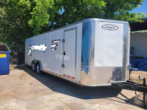 Enclosed trailer 24 ft. for Sale in Houston, TX