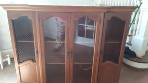 Two-piece china cabinet for Sale in Kenbridge, VA
