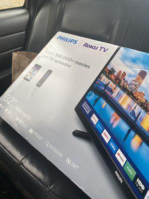 """PHILLIPS 32"""" ROKU TV for Sale in Woodbridge, VA"""