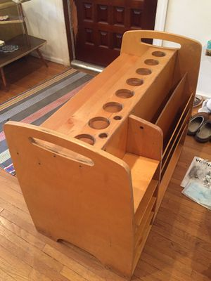 Vintage Original arts And crafts organizer desk for Sale in Hialeah, FL