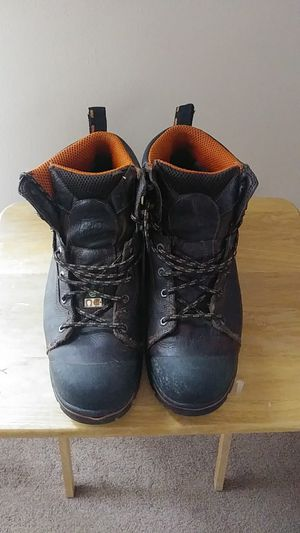Timberland pro Anti Fatigue Steel toe boots work boots.They retail for 160.00 im asking 80.00 they are a size 13 in men's for Sale in Fort Mitchell, KY