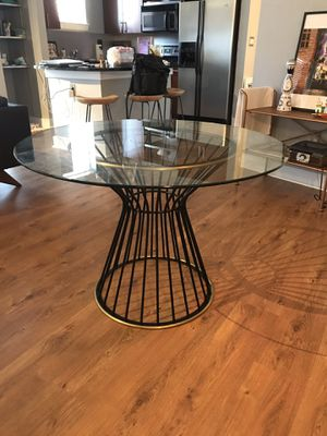 "West Elm 42"" Hourglass Dining Table for Sale in Atlanta, GA"