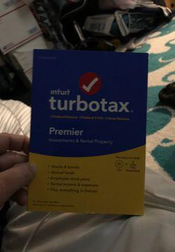 Turbo Tax Premier 2019 for Sale in Boston,  MA