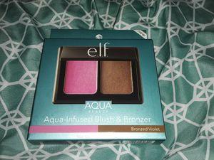 5 Brand new Elf aqua-infused blush & bronzer for Sale in Riverside, CA