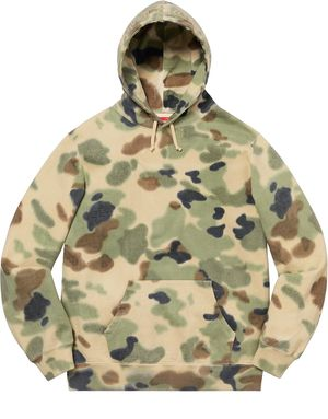 Supreme Overdyed painted camo hooded sweatshirt for Sale in Chalmette, LA