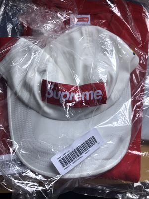 New/Never Worn Supreme Trail Camp Hat White for Sale in Pasadena, CA