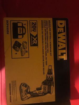Drywall screw gun kit for Sale in Dublin, OH