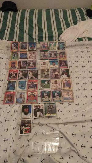 Bo Jackson baseball/football cards for Sale in Glen Burnie, MD
