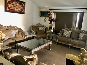 Victorian furniture, couch Loveseat and large 2chairs for Sale in Glendale, AZ