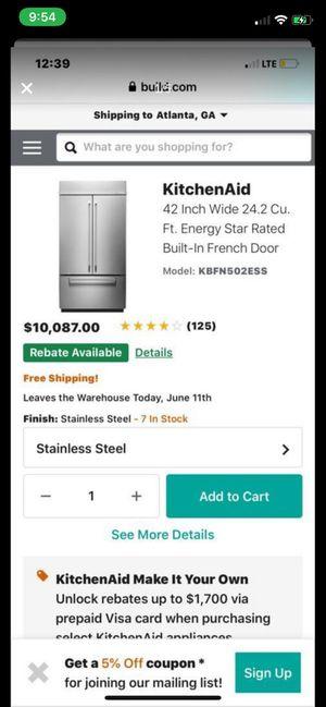 New kitchen fridge for Sale in Snellville, GA