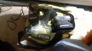 Ryobi Impact drill package w 2 new batteries' charger and case for Sale in Lancaster, PA