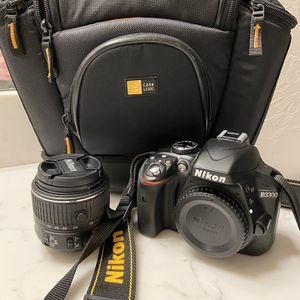 Nikon D3300 Body With 18-55mm Lens for Sale in Oklahoma City, OK