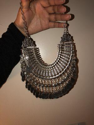 Statement piece Silver Necklace for Sale in Atlanta, GA