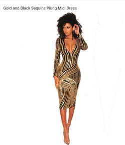 Glod dress for Sale in Bridgeport,  CT