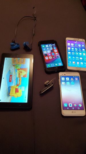 Samsung Galaxy Note 4,IPhone 6,Apple Kindle, Apple Ipod mini, Beats Headphones, LG phone for Sale in Clovis, CA