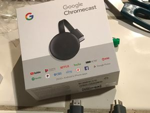 Google chromecast for Sale in Charleston, SC