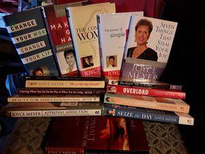 Christian books by Joyce Meyer for Sale in Virginia Beach, VA