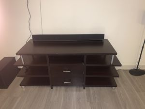 Wood style Entertainment center for Sale in Tampa, FL