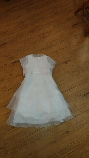 White Flower Girl Dress 7 for Sale in Seffner, FL