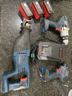 Bosch power tool set for Sale in Manteca, CA
