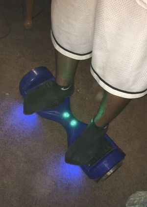 Blue Swagway hoverboard used with charger for Sale in Arvada, CO
