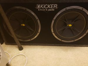 Kicker 12 inch subs for Sale in Sterling, VA