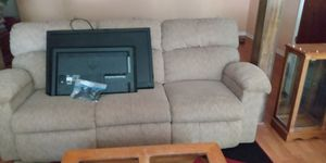 Couch for sale with 2 recliners on both sides for Sale in Lynchburg, VA