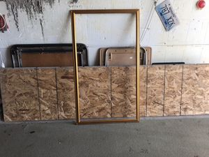 """Wood Frame - Gold 25""""Hx33w for Sale in Old Saybrook, CT"""