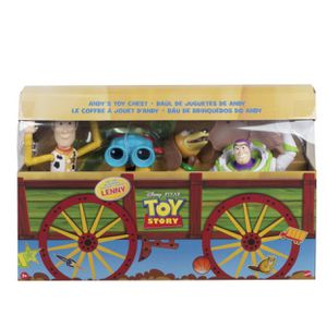 Disney Pixar Toy Story Andy's Toy Chest Retro Figure 4pk for Sale in Pico Rivera, CA