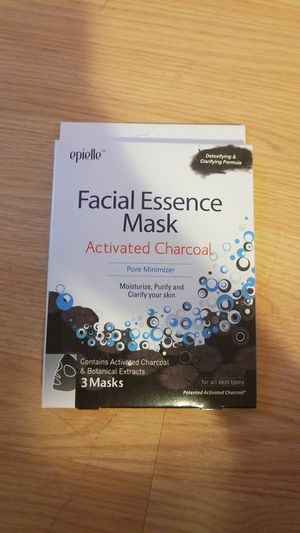 Face essence mask (activated charcoal) for Sale in Mountlake Terrace, WA