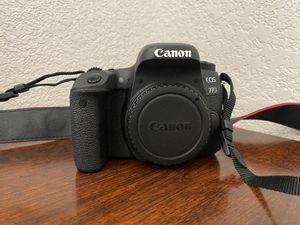 Canon EOS 77D 24.2MP Digital SLR Camera for Sale in Commerce, OK