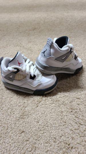 Nike Jordan IV Retro 4 white cemen6 for Sale in Vallejo, CA