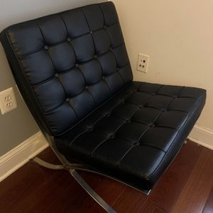 Barcelona Mid Century Chair for Sale in Bailey's Crossroads, VA