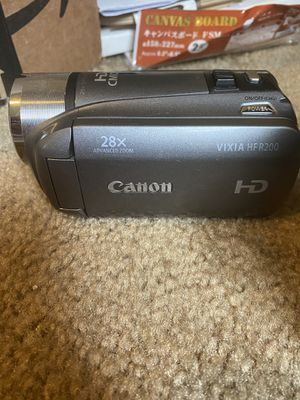 Canon Vixia HFR200 HD camcorder / video camera for Sale in Seattle, WA