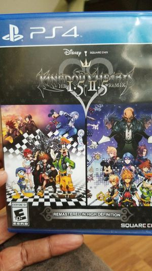 Kingdom Hearts 1.5 2.5 PS4 for Sale in Davenport, FL