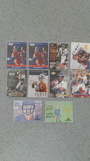 John Elway football cards for Sale in South San Francisco, CA
