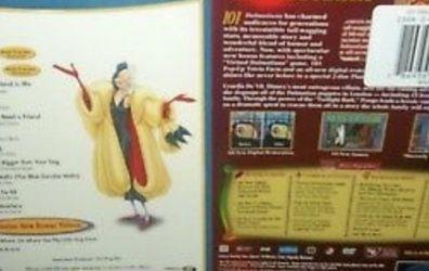 Walt Disney 101 DALMATIANS 2 Pack PLATINUM Limited Edition DVD + Bonus Music CD for Sale in Belle Isle,  FL