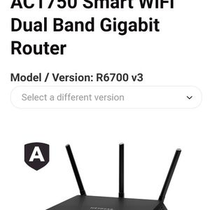 Nighthawk Router R6700v3 for Sale in Whittier, CA