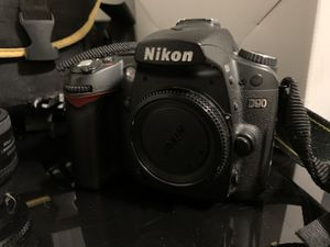Nikon D90 with lenses, and case OBO for Sale in Brush Prairie, WA