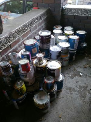 Opened and unopened paint. Many colors for Sale in Salt Lake City, UT