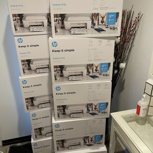 HP DeskJet 2722 All-in-One Wireless Color Inkjet Printer - Comes with Original INK - Brand New and Sealed in Box for Sale in Rosemead, CA