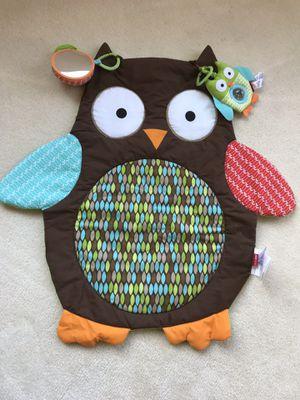 Skip hop tummy time owl mat for Sale in Vista, CA