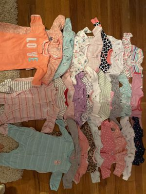 3 month old baby girl clothes for Sale in Livonia, MI