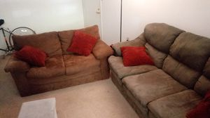 Love seat and/or couch for Sale in Lynchburg, VA