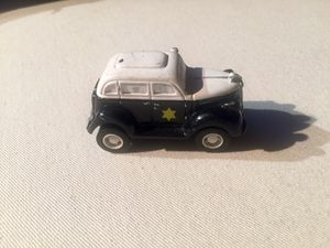 1990 Disney Applause Dick Tracy Black White Pull Back Friction Police Car for Sale in Denver, CO