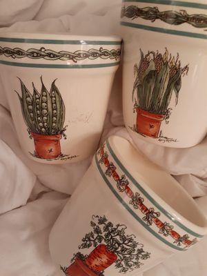 Mary Hughes Flower Pots for Sale in Spokane, WA