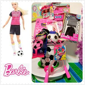 Barbie Soccer Player Easter Basket for Sale in Laredo, TX