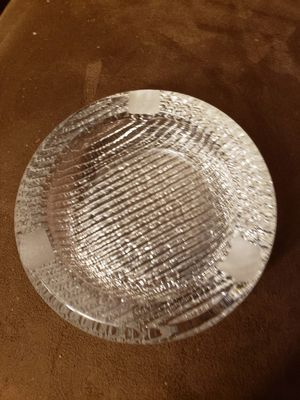 Vintage very heavy glass ash tray for Sale in Stow, OH
