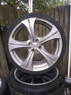 18s 4x100 bolt pattern 4 trade 4 17s for Sale in Tampa, FL