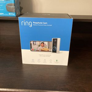 Ring Peephole Cam NEW for Sale in Valley Park, MO